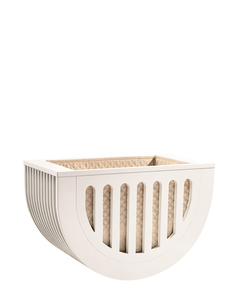 Moveo Mini Crib White Edition